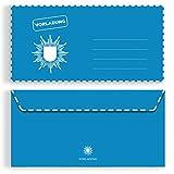 (10 x) Briefumschläge DIN-Lang - Polizei Einladungskarten Kuvert selbstklebend