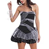 Bold Manner Damen Halloween Kostüm Zombie Braut Kleider Cosplay Zombie Dress Erotische Abendkleid