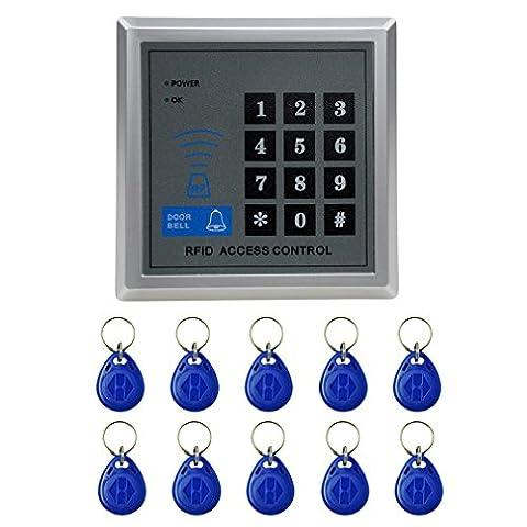 RFID Zugangssystem Codeschloß Zutrittskontrolle mit 10