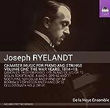 Musique de chambre pour piano et cordes, Volume 1 - Les années de guerre 1914-1918
