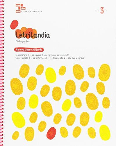 Cuadernos Ortografía. Letrilandia 3 (Molalaletra) por Aurora Usero Alijarde