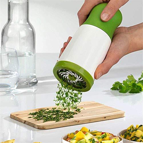 SEESEE.U 1500 ml Gemüsehacker Aktenvernichter Manuelle Fleisch Gemüsemühle Salat Maker Küchenhelfer 3 Geschwindigkeit Einstellbar