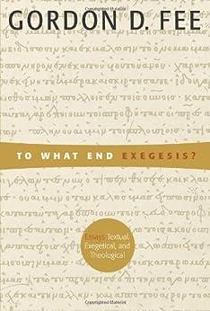 Exegetical essay