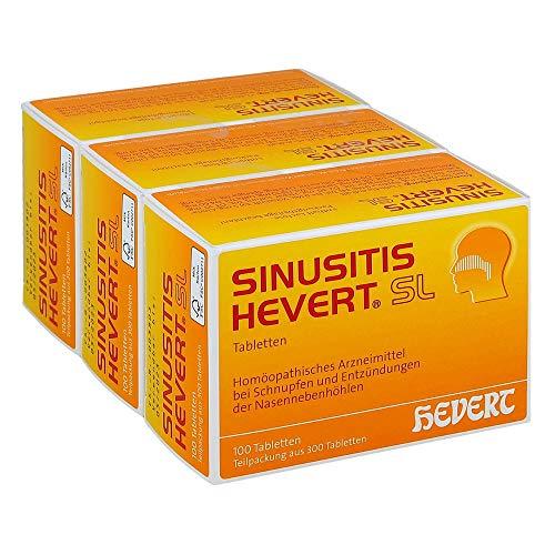Sinusitis Hevert SL, 300 St. Tabletten -
