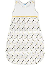 Baby Schlafsäcke Biobaumwolle, Chemikalienfrei, Sweety Fox - kuscheliger Babyschlafsack mit geschütztem Reißverschluss - Französisches Design - Unisex Baby Schlafsack