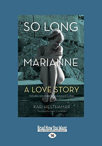 So Long, Marianne: A Love Story by Kari Hesthamar (2015-07-30)