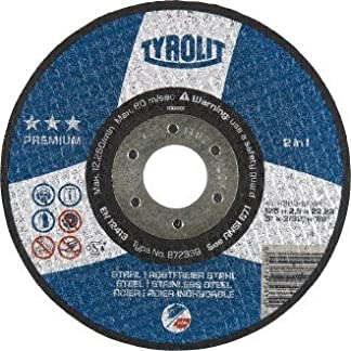Disco de corte TYROLIT Premium *** 2in1   115×2.5 mm   recta   Formulario 41   1 unidad