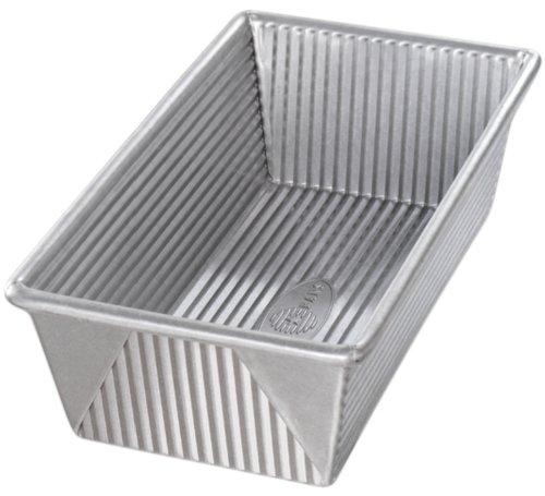 USA Pfanne Bakeware aluminisierten Stahl 1Pfund Backen 1 1/4 pound loaf silber (Silber Pfund)