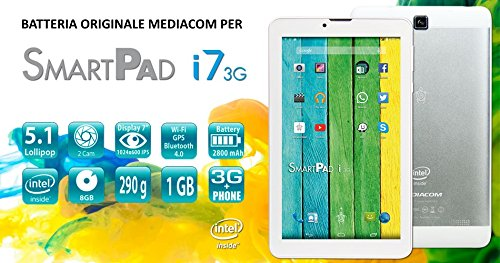 batteria tablet mediacom MEDIACOM BATTERIA ORIGINALE PER TABLET MEDIACOM I7A3G M-MPI7A3G - SPED. TRACCIATA
