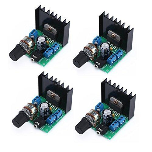 4 Packung mit TDA7297 Mini Digita Verstärker 15W + 15W (Mini-verstärker Netzteil Mit)