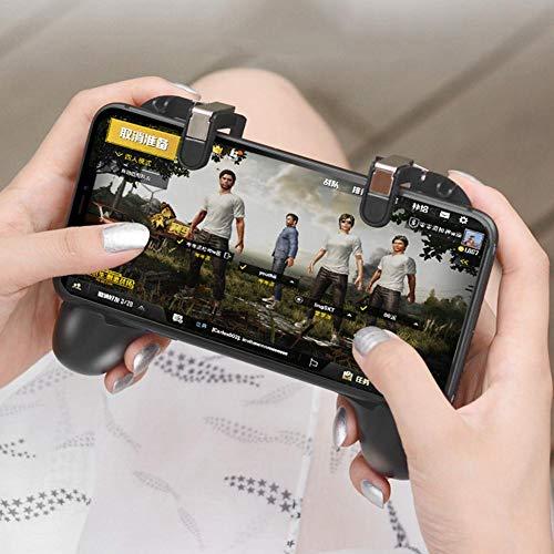 Haodene Controller für Telefonspiele, Mobile Controller PUBG Gamepad, Auslöser-Tasten, ideal für Spiele Out/PUBG/Survival-Regeln, iOS & Android