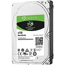 Seagate BarraCuda - Disco duro interno de 4 TB (2,5', 15 mm, 128 MB de caché SATA 6 GB/s hasta 140 MB/s)