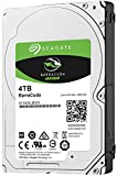 Seagate BarraCuda - Disco duro interno de 4 TB (2,5', 15 mm, 128 MB de caché SATA 6 GB/s hasta 140 MB/s) Negro