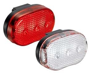 Etc Lampe LED pour vélo Lot de 2