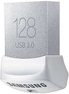 Samsung MUF-128BB Memoria USB Portatile da 128GB, Colore Bianco/Grigio