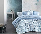 ZIRVEHOME Flanell Winter Bettwäsche 240x220 cm. KOS 100% Baumwolle Mit Reißverschluss