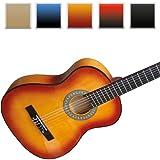 Jago - Guitare Classique Acoustique 4/4 en Bois (Couleur au ...