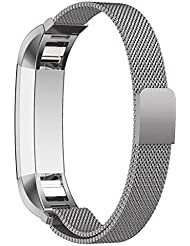 Fitbit Alta and Alta HR Unisex Armband, Bepack Edelstahl Einstellbares Stahlarmband Strap f¨¹r Fitbit Alta Heart Rate Uhrenarmband Fitness Wristband