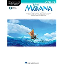Disney Moana: Violin - With Downloadable Audio