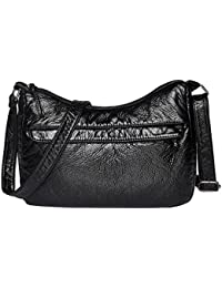 999f10e0a6b3 Childplaymate Vintage Women Small Messenger Bags Soft PU Leather Shoulder  Hobos Handbags