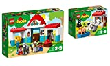 LEGO DUPLO Town 2er Set: 10868 Pferdestall + 10870 Tiere auf dem Bauernhof