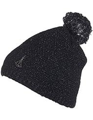 Phenix Rose Knit Hat Gorro Para Mujer, negro, -,-