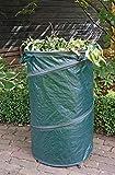 FARMERS FUN Pop-UP Sac de Jardin avec poignées de Transport, Transport Facile de Vos déchets de Jardin 120 L Vert