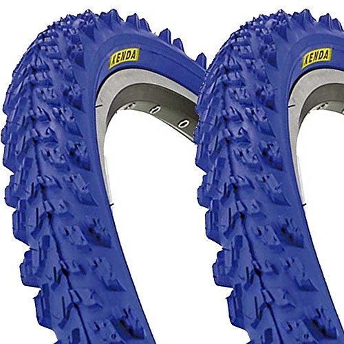 2 x Kenda K829 Fahrrad Reifen 26 x 1,95 | 50-559 blau SET NEU blue tire BIKE -