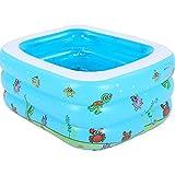 Bloomy Home- Kleinkind-Badewannen-Faltbarer Swimmingpool des Plastik-tragbaren Kindes für Badezimmer im Freien