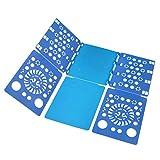 BoxLegend Piega Abiti Piega Megliette Piega Camicie Piega Vestiti Indumenti 57 x 70 cm (Blue - Blue)