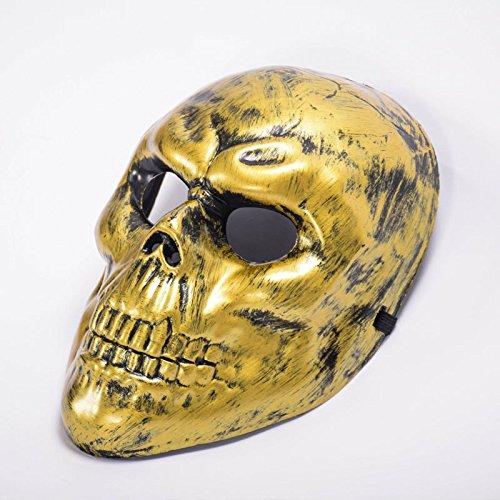 Bumen Halloween Maske Masquerade Maske Phantom der Oper Face Maske Halloween kostüm Maske karnevalskostüme Maske Halloween verkleidung Maske Halloween schminke Horror Masken (Phantom Der Oper Kostüm Kinder)