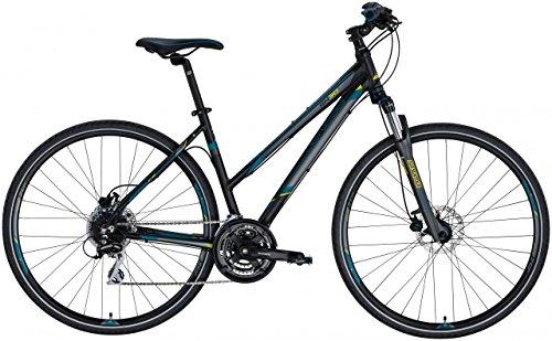 Genesis Cross-Bike Speed Cross Sx-30 28 Damen - schwarz matt, Größe:47
