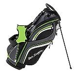 Ben Sayers 2016 Deluxe-Borsa Per Trasporto Leggero Golf 14-Divisore Modo, Colore Nero/Lime Verde