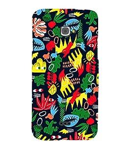 Colour leafs Designer Back Case Cover for Infocus Bingo 50
