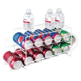 mDesign Organizador de frigorífico para alimentos – Moderno organizador de...