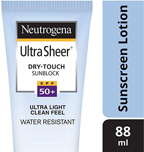 Neutrogena Ultra Sheer Dry-Touch Sunblock SPF 50+, 88ml