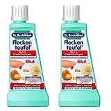 2x Dr. Beckmann Fleckenteufel Blut & Eiweißhaltiges, Eis, Ei, Milch Joghurt, Sahne (2x 50 ml) im Suzanjas Doppelpack
