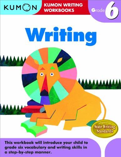Writing, Grade 6 (Kumon Writing Workbooks)