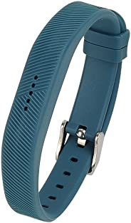 AUTRUN Band for Fitbit Flex 2, Newest Replacement Wristband With Watch Buckle Design for Fitbit Flex 2 (No Tracker) (Slate,