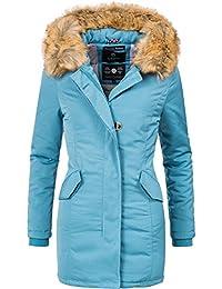 3b44c2f02b Marikoo Karmaa Cappotto Invernale da Donna XS-5XL 15 Colori XS-XXL