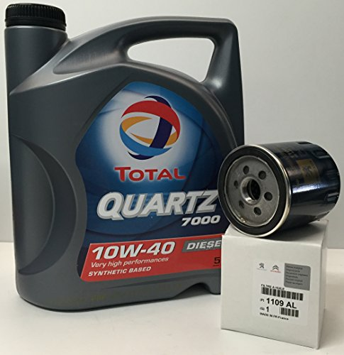 Total Pack Quartz 7000 Diesel 10W40 5 litros + Filtro