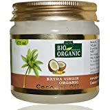 Indus Valley Bio Organic Extra Virgin Organic Coconut Oil With The Natural Aroma Of Coconut Oil For Hair & Skin Care 175ml