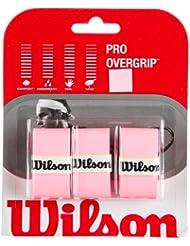 Wilson Pro Overgrip Lot de 3grips pour raquette de tennis
