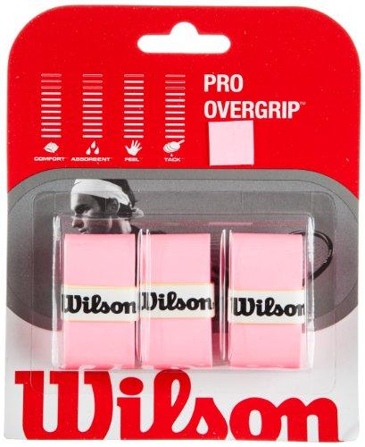WILSON Pro Overgrip-3er-Set Griffbänder für Tennisschläger, - Gummi Tennisschläger