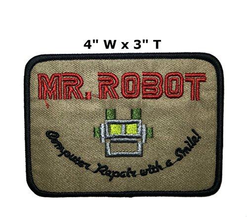 (Anwendung Classic TV Film Herr Roboter Cosplay Badge gesticktes Eisen oder aufgesetzte Aufnäher Patch)