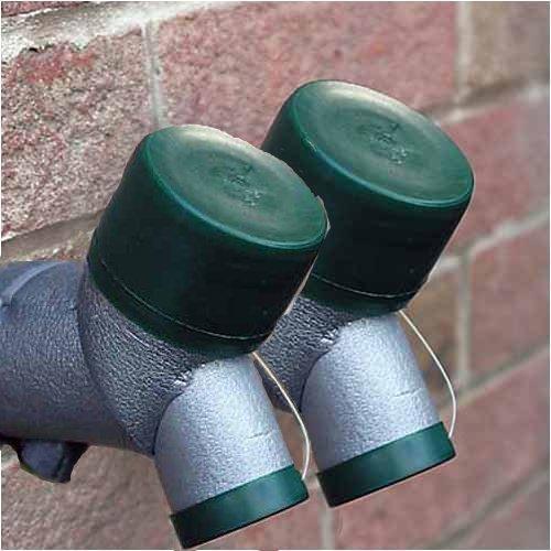 extérieur isolante pour robinet–Idéal protection contre le gel Lot de 2