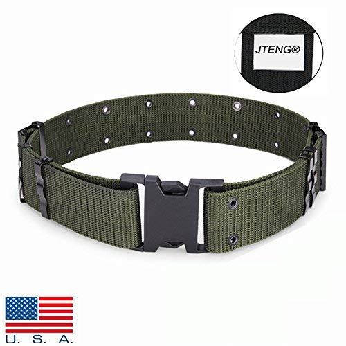 n Gürtel Tactical Nylon Canvas Außen Armee Hosen-Schnalle Gurt, green belt ()