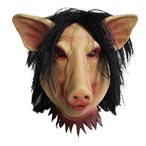 ske SAW SCHWEINEKOPF (Halloween-saw Pig Maske)