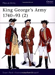 King George's Army 1740-93 (2) (Men-at-Arms, Band 289)
