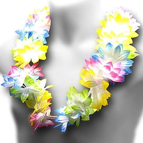 Amscan International Hula Girl Lei Necklace Hawaiian